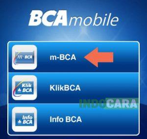 5 Pilih m-BCA - Indocara