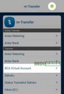 7 Pilih BCA Virtual Account - Indocara