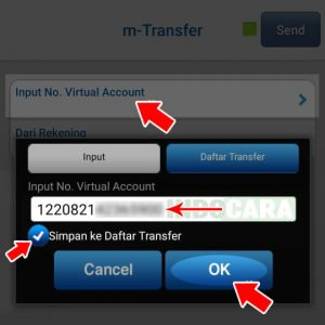 8 Masukan Kode BCA Virtual Account - Indocara