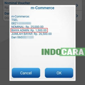 BCA Mobile - Konfirmasi Isi Pulsa - IndoCara