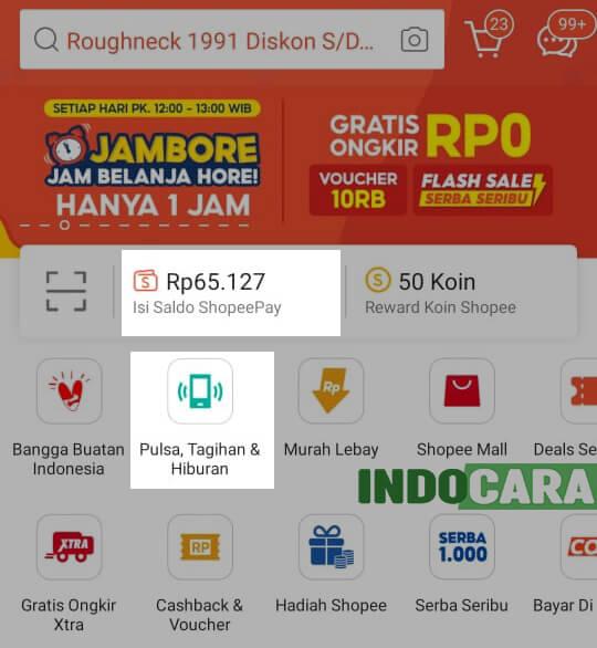 Cara Cek dan Bayar Listrik di Shopee 1 Pilih Tagihan