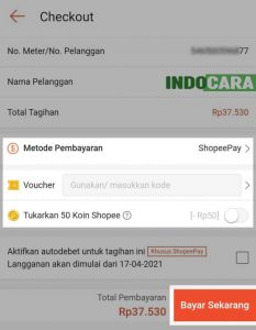 Cara Cek dan Bayar Listrik di Shopee 5 Bayar Sekarang