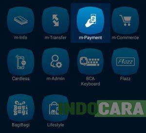 BCA Mobile - Pilih m-Payment