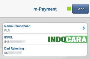 BCA Mobile - m-Payment - Masukan id pelanggan