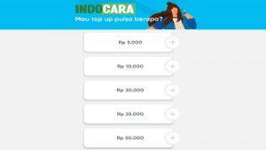 Cara Isi Pulsa by.U di Konter Pulsa dan Secara Online - IndoCara