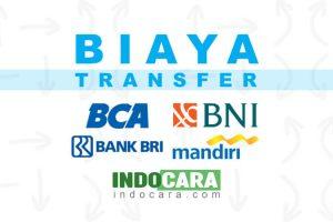 Daftar Biaya Transfer Antar Bank BCA, BNI, BRI dan Mandiri - IndoCara