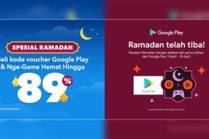 Promo Beli Kode Voucher Google Play Hemat Hingga 89% - IndoCara