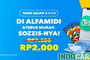 Promo Dana April 2021 Tarik Saldo, Tebus Sozzis-nya Rp2.000 - IndoCara