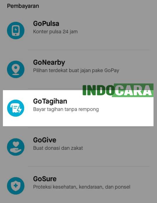 Gopay - GoTagihan