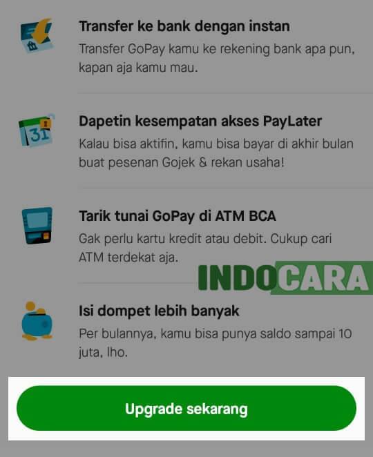 Gopay Plus - Upgrade Sekarang