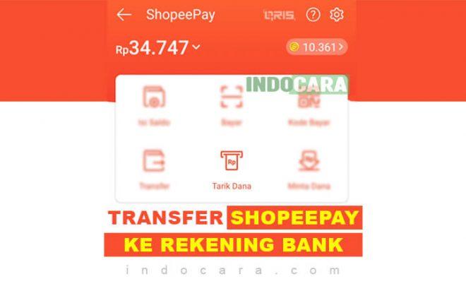 Cara Transfer Saldo ShopeePay ke Rekening Bank 2021 min