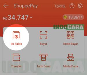 2 Shopee - ShopeePay - Isi Saldo