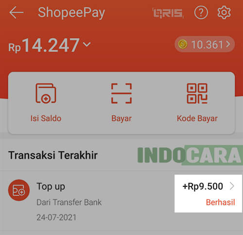 7 Potongan Isi Saldo ShopeePay sebesar Rp 500