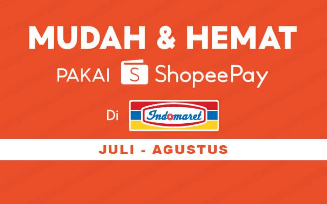 Promo ShopeePay Indomaret Terbaru Juli - Agustus 2021 - Indocara
