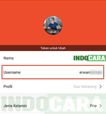 4 Shopee - Saya - Pengaturan - Profil Saya - Lihat Username ShopeePay
