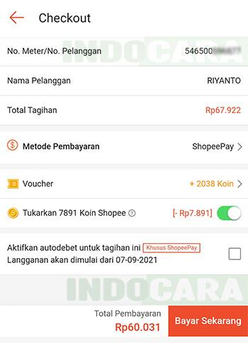 5 Shopee - Pulsa Tagihan dan Hiburan - Listrik PLN - Tagihan Listrik - Bayar Tagihan Listrik