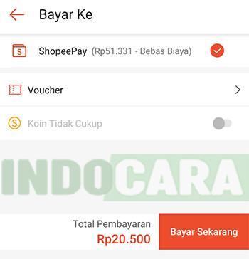Shopee - Bayar Sekarang - Cara transfer ShopeePay ke OVO