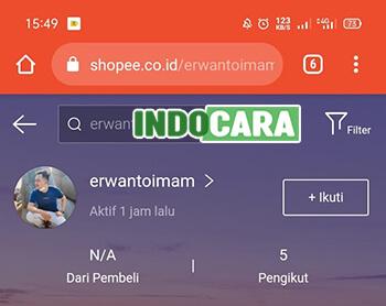 Contoh Username ID ShopeePay