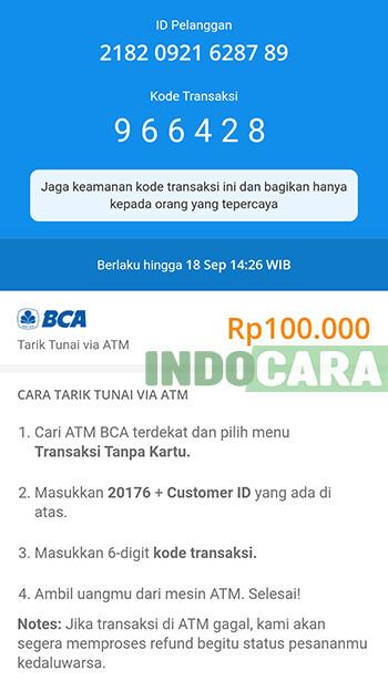 Dana - Kode Transaksi untuk Penarikan Saldo Dana di ATM BCA