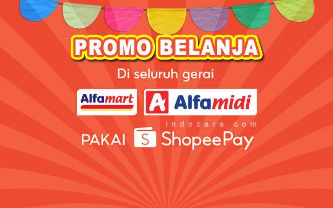 Promo ShopeePay Alfamart Alfamidi Terbaru